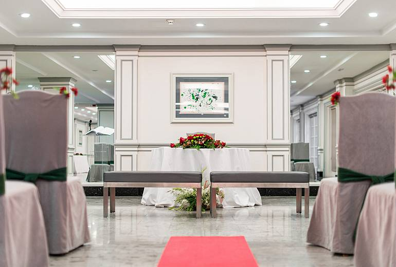Weddings: Banquet rooms VP El Madroño
